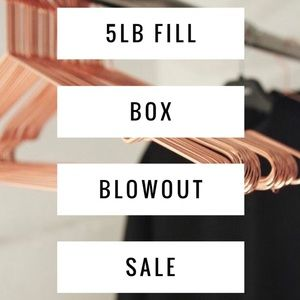 SALE PRICE❗️5 lb Box Resell or Keep - Mystery Box
